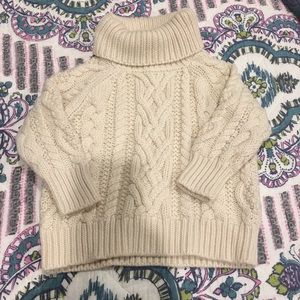 RL Polo Turtleneck cable knit